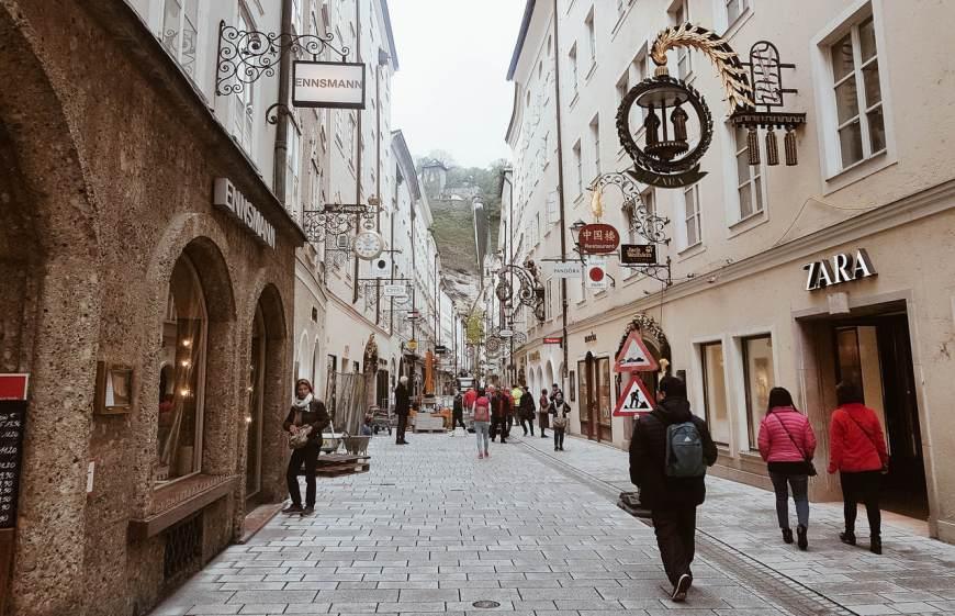 Centrinho - Catedral de Salzburg