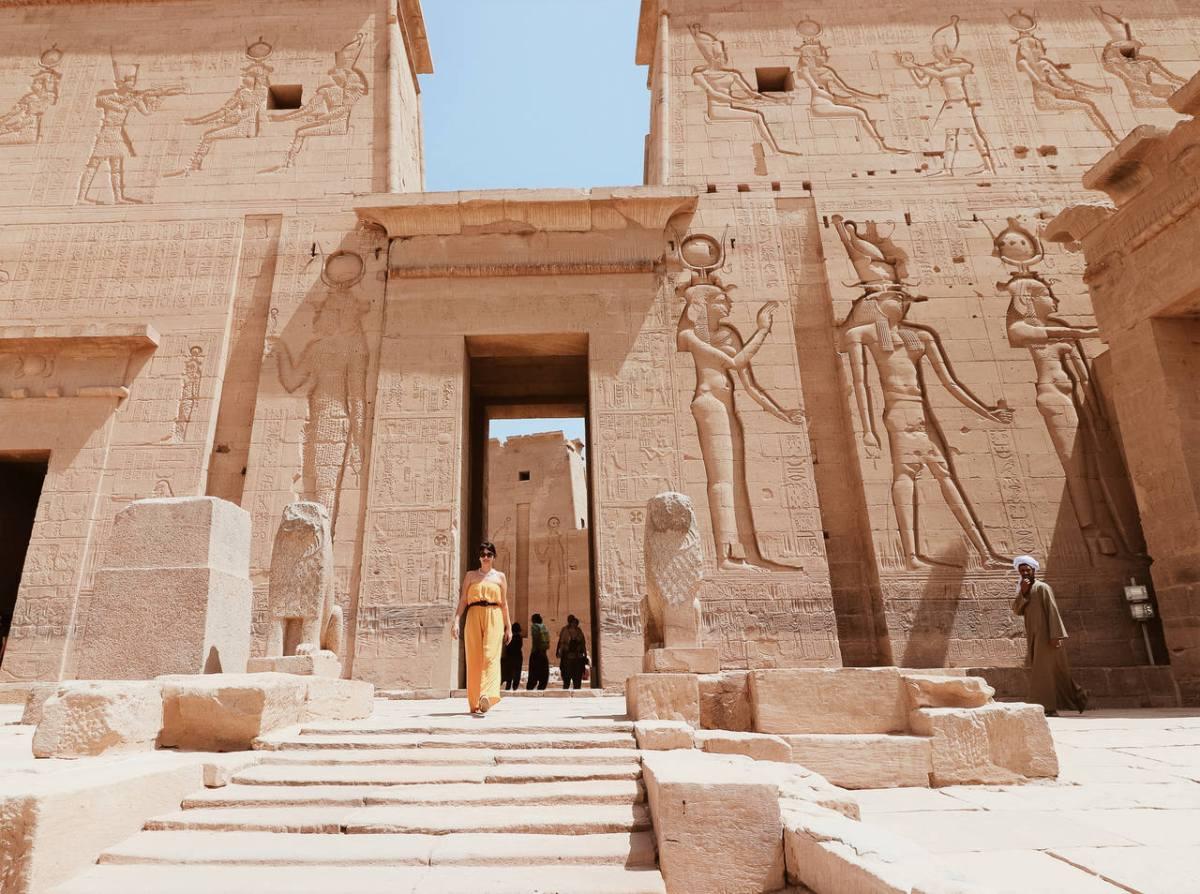 Pontos turísticos do Egito - Templo de Philae em Aswan
