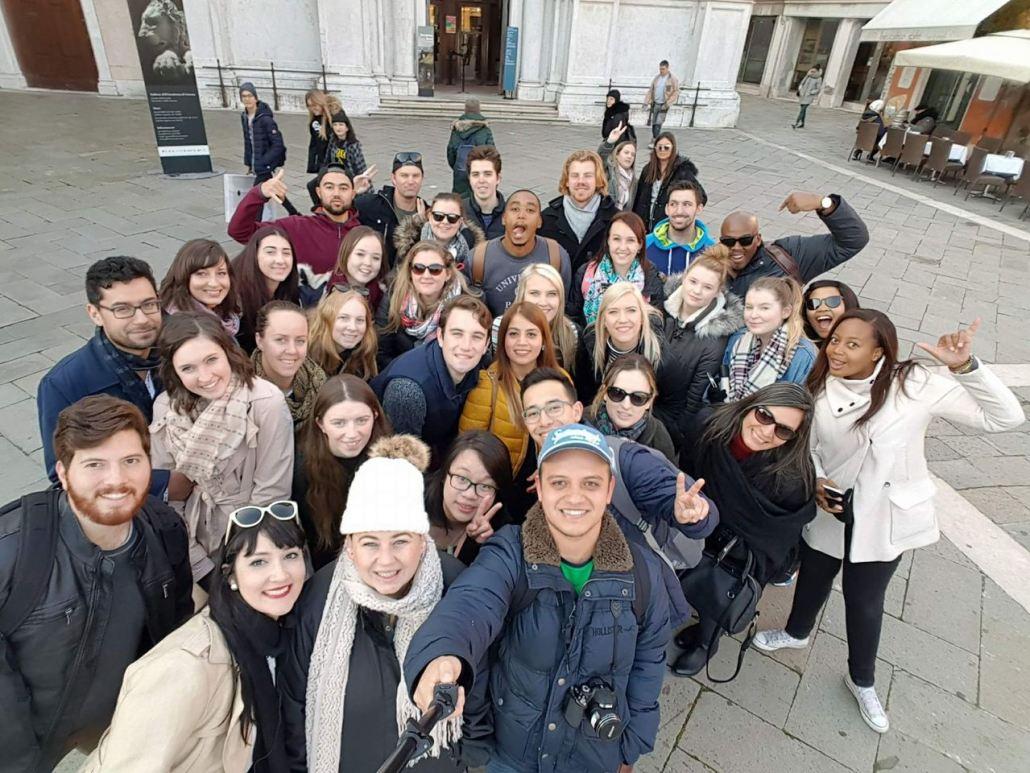 viagem em grupo para a europa