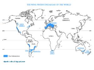 La franja del vino y el cambio climático
