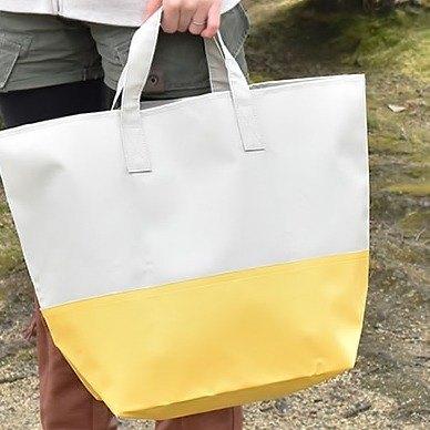 日本SHF生活小品│防水肩背托特包│黃灰