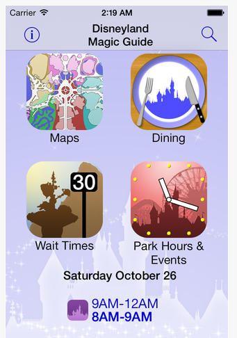 iphone apps for Disneyland 6