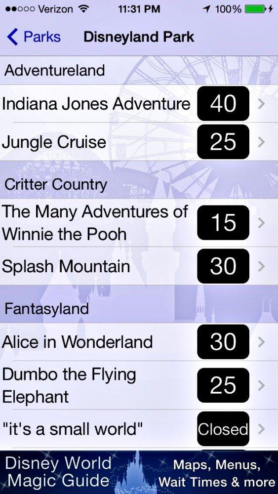 iphone apps for Disneyland 4
