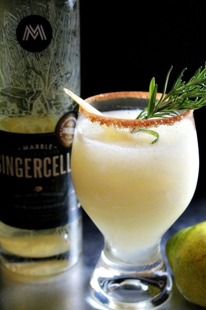 Gingered Pear Margarita14