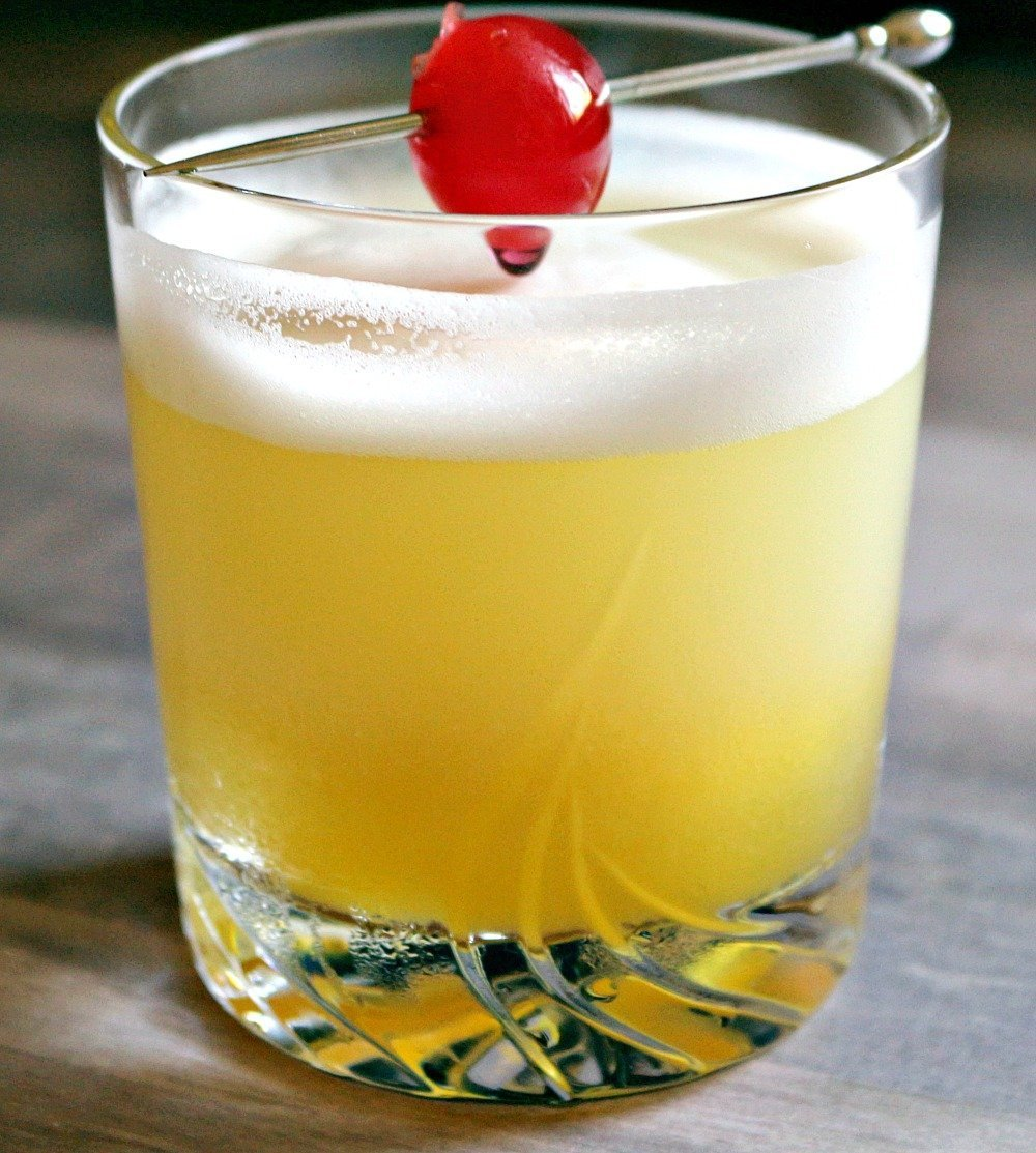 Passion Fruit Pineapple Prosecco Sour11