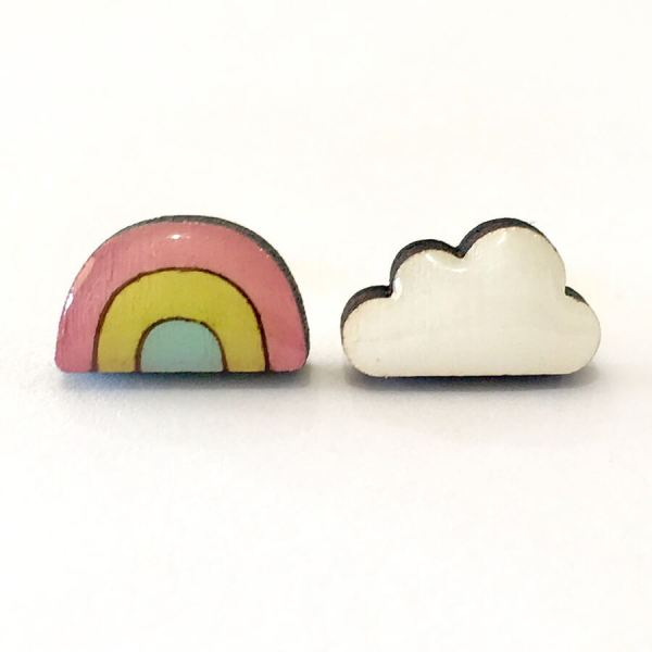 Acorn and Squirrel Over the Rainbow