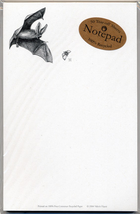 Big-eared Bat Notepad