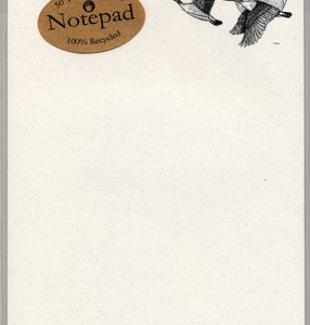 Canada Geese Notepad