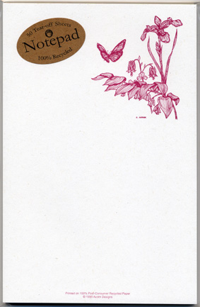 Wildflowers Notepad