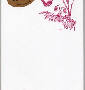 Wildflowers Notepad