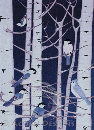 Birds of a Feather Notecard