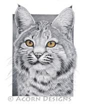 Bobcat Lokta Card