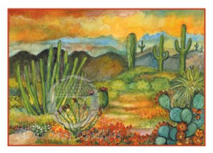 Sonoran Desert Notecard