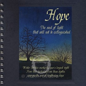 Solstice Hope Notecard