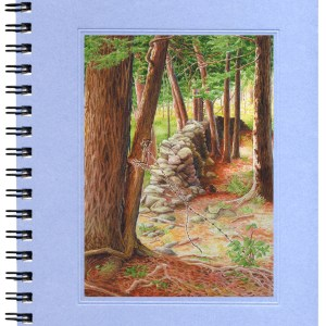 Stone Wall Notecard