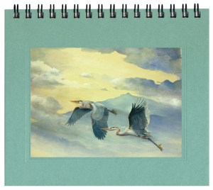 Flying Great Blue Herons Journal