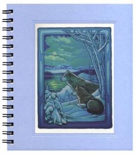 Seasons of the Wolf - Winter Notecard