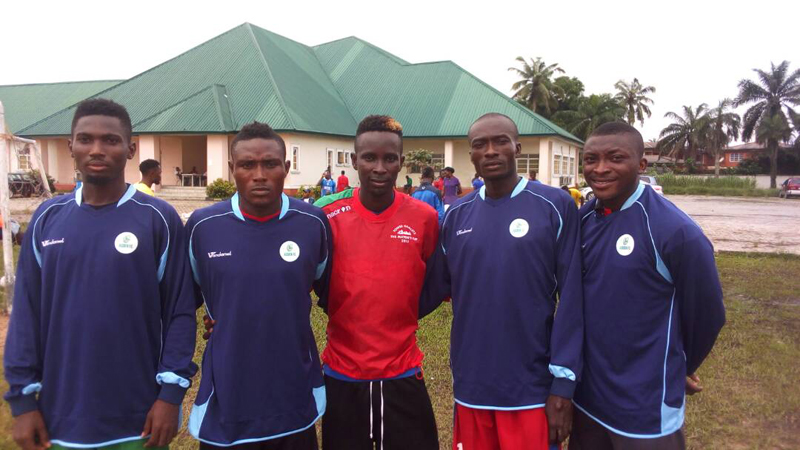Lord Honour United Football Club members