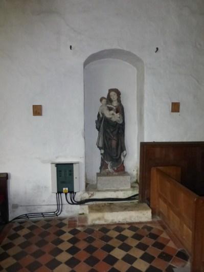 The former Norman north door