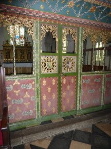 The nave screen