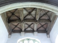 Breage: N transept roof
