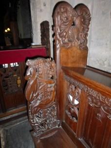 Crantock: a bench-end