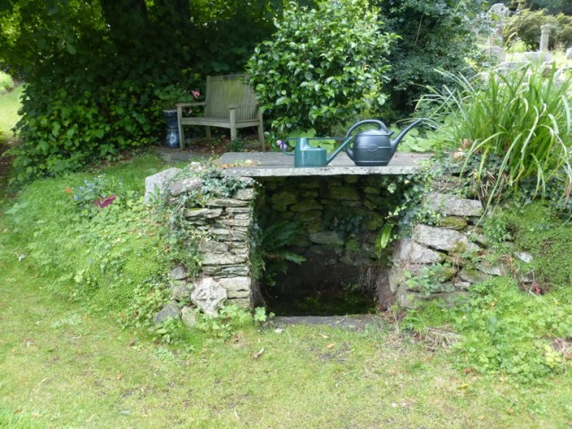 Mylor: the holy well