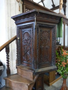 Padstow: the C16 pulpit