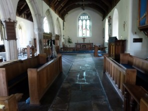 The empty choir