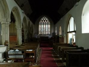 Sheviock: the nave