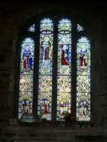 St Columb Minor: perp window
