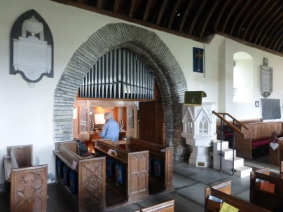 St Merryn: the north transept