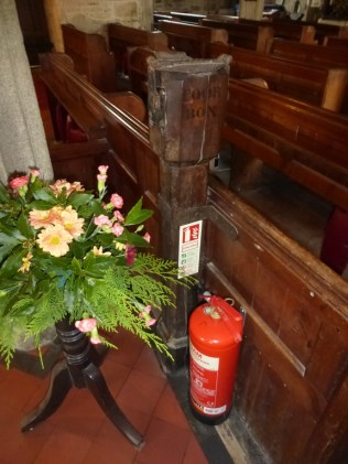 Wendron: the poor box pillar