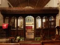 St Ewe: the rood screen