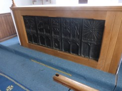 Forrabury: reused bench ends