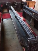 Kilkhampton: original bench backs