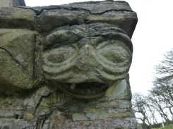 Morwenstow: carving