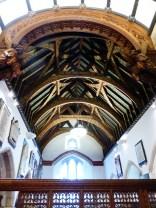 St Austell: chancel roof
