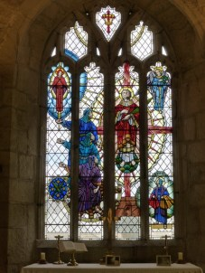 St Stephen in Brannel: St Stephen window