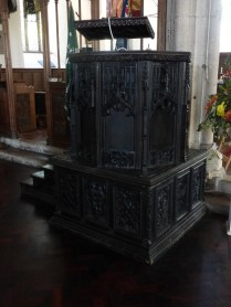 Bodmin: the pulpit