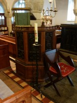 Gwinear: the pulpit