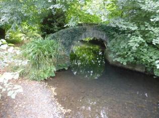 Packhorse bridge over the Kensey
