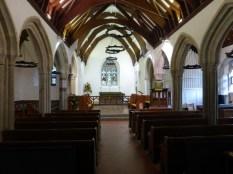 Mawnan: the nave