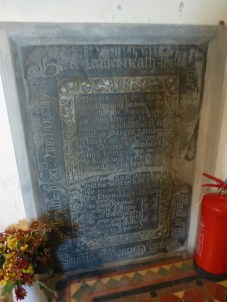 North Tamerton: monument to Walter Robins