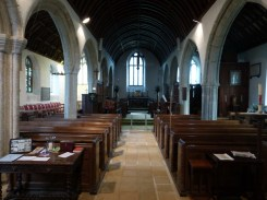 Week St Mary: the nave