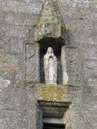 Week St Mary: tower figure