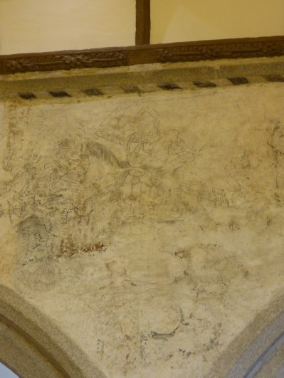 Calstock: wall painting
