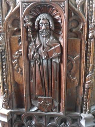 Golant: St Sampson - a former bench-end