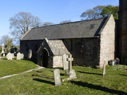 : the north (vicar's) porch