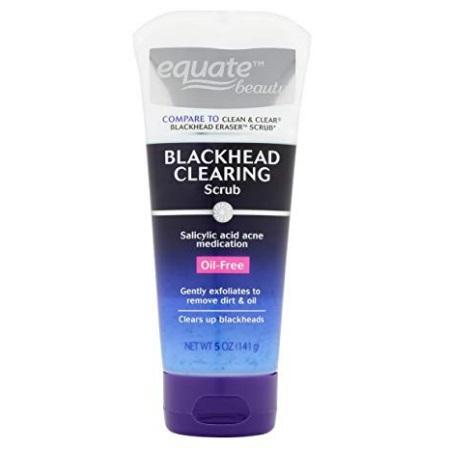 Equate Beauty Blackhead Clearing Scrub, 5 oz/141g